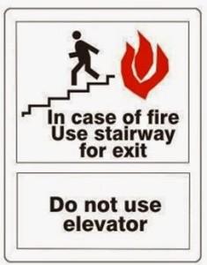 Elevator Signage II