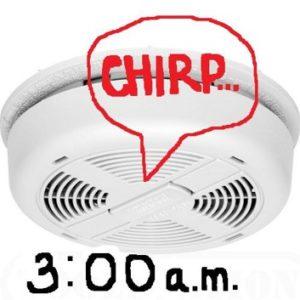 Chirping Detector